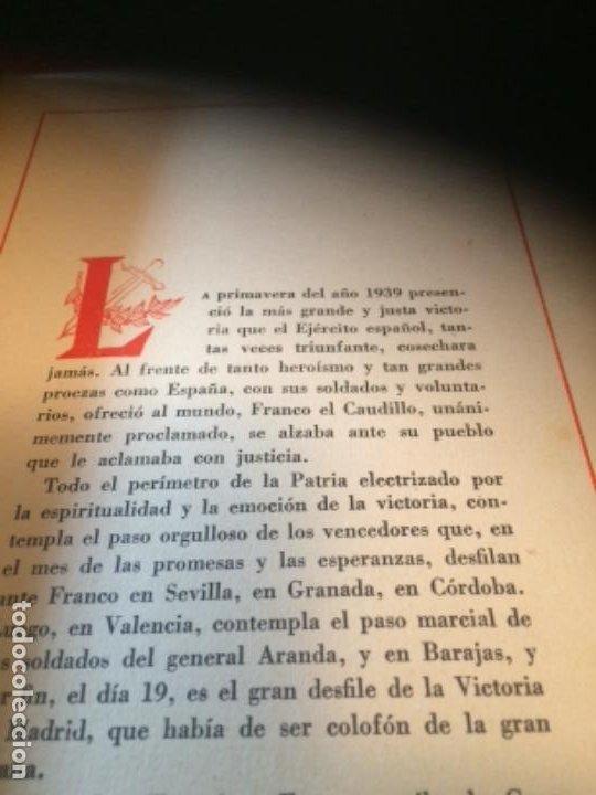 Militaria: España Heroica 1a ediciòn piel Sancho González - Foto 12 - 194240206