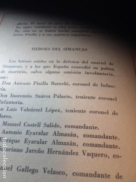 Militaria: España Heroica 1a ediciòn piel Sancho González - Foto 17 - 194240206