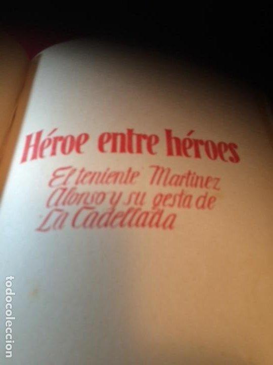 Militaria: España Heroica 1a ediciòn piel Sancho González - Foto 18 - 194240206