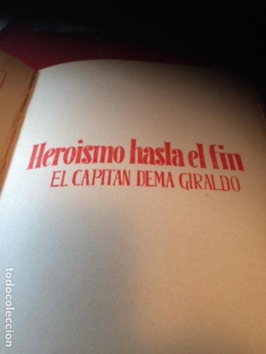Militaria: España Heroica 1a ediciòn piel Sancho González - Foto 19 - 194240206