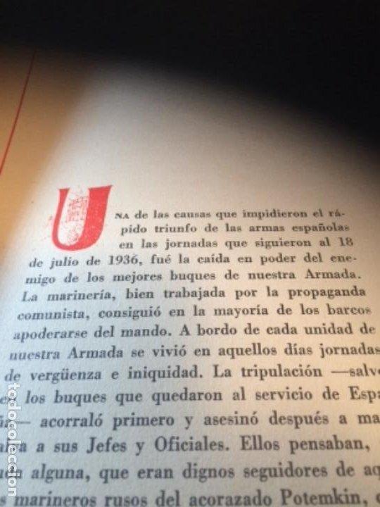 Militaria: España Heroica 1a ediciòn piel Sancho González - Foto 24 - 194240206