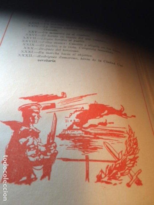 Militaria: España Heroica 1a ediciòn piel Sancho González - Foto 37 - 194240206