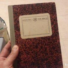 Militaria: LIBRO DE CAUDALES PARA OFICIALES SIN ESTRENAR EPOCA DE FRANCO. Lote 194243808