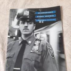 Militaria: LIBRETO POLICIA NUEVA YORK TRANSPORTES TRANSIT POLICE NYCTPD. Lote 194285633