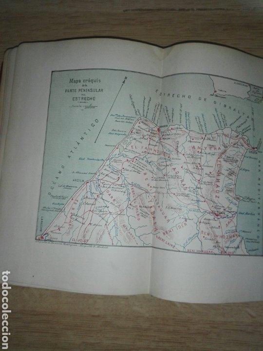 Militaria: ESTUDIOS GEOGRAFICOS.Marruecos .Posesiones españolas en Africa. Por D. LEON MARTIN Y PEINADOR - Foto 2 - 194346171
