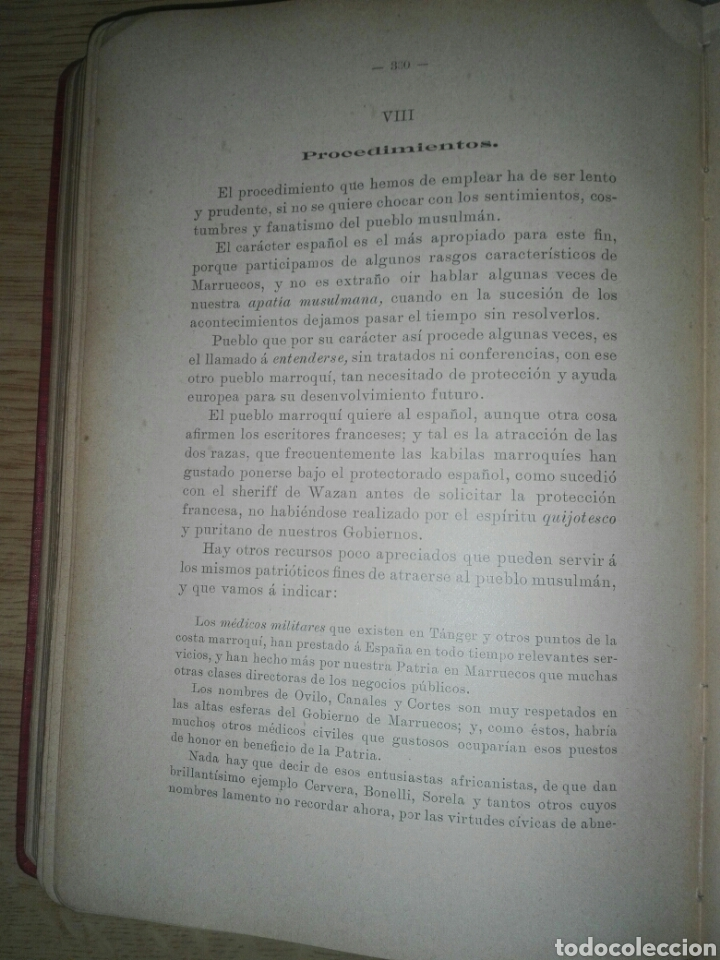 Militaria: ESTUDIOS GEOGRAFICOS.Marruecos .Posesiones españolas en Africa. Por D. LEON MARTIN Y PEINADOR - Foto 6 - 194346171