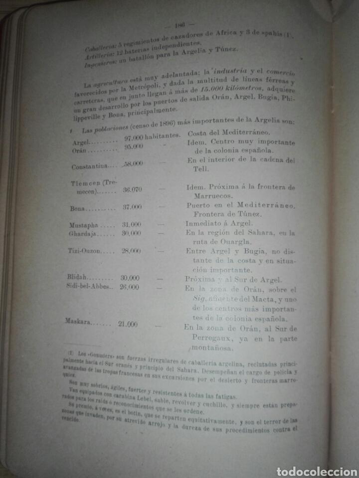 Militaria: ESTUDIOS GEOGRAFICOS.Marruecos .Posesiones españolas en Africa. Por D. LEON MARTIN Y PEINADOR - Foto 15 - 194346171