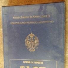 Militaria: CATÁLOGO DE REPUESTOS SIMCA 1200, TALBOT HORIZON, 150 SOLARA, PEUGEOT 505, 309. Lote 194556162