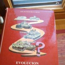 Militaria: EVOLUCION DEL CARRO DE COMBATE EN EL MUNDO. TOMO 1.. Lote 194557135