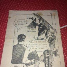 Militaria: FUERZA NUEVA - FANCINE - EDICIONES VALOR - VALENCIA - CONÓCENOS - FUERZA JOVEN ESPAÑA. Lote 194587102