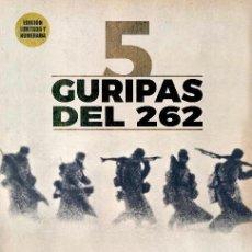 Militaria: DIVISIÓN AZUL. 5 GURIPAS DEL 262. VARIOS AUTORES. CARLOS CABALLERO. JOSÉ MANUEL ESTÉVEZ PAYERAS.. Lote 194606461
