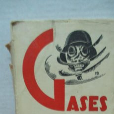 Militaria: GASES ASFIXIANTES. KARL AUGUST LAFFERT. 1930. Lote 194614597