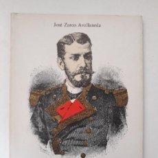 Militaria: CARTAGENA - ISAAC PERAL Y CABALLERO. JOSÉ ZARCO AVELLANEDA. IMP. GRAFICAS CIUDAD SA- ALCOY, 1986.. Lote 194641843