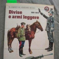 Militaria: DIVISE E ARMI LEGGERE 1919-1934. Lote 194763420