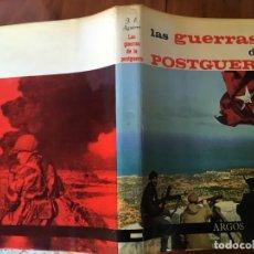 Militaria: LIBRO LAS GUERRAS DE POTSGUERRA ENCICLOPEDIA DE ARGOS. Lote 194787240