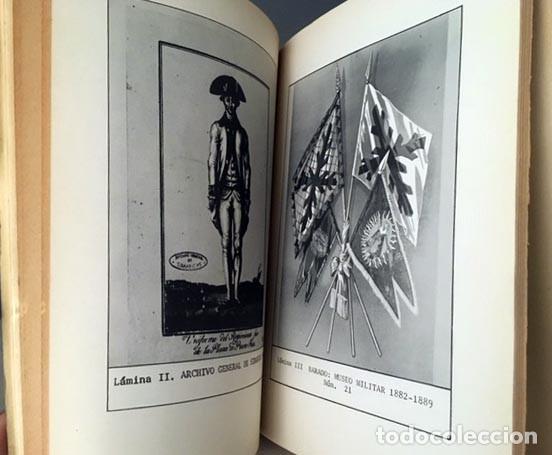 Militaria: Bibliografía iconográfica del traje militar de España (+ antiguos Virreinatos y Colonias. Tirad Nume - Foto 3 - 194787412