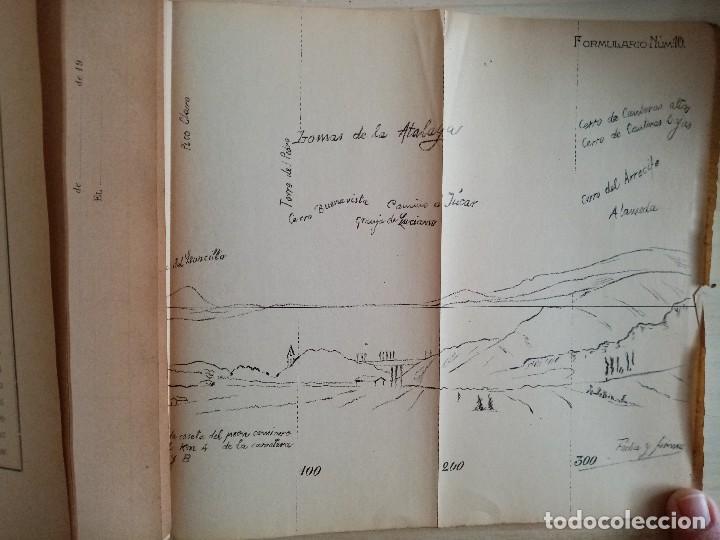 Militaria: ARTILLERIA - INSTRUCCIONES PARA EL TIRO DE LAS BATERIAS DE CAMPAÑA - REGLAMENTO - 1909 - Foto 6 - 194873748