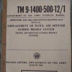 Militaria: SISTEMA GUIA MISIL HAWK. Lote 194964063
