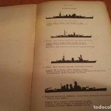 Militaria: ESPECTACULAR TOMO SILUETAS DE BUQUES DE GUERRA MINISTERIO DEL AIRE ESTADO MAYOR 2 SECCIÓN 1940. Lote 194975026