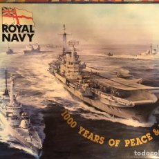 Militaria: LIBRO SORE LA ROYAL NAVY BRITÁNICA.SEGUNDA GUERRA MUNDIAL. Lote 194977110