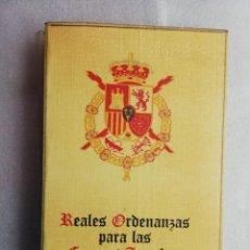Militaria: REALES ORDENANZAS PARA LAS FUERZA ARMADAS. Lote 195035797