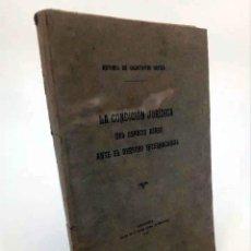 Militaria: LA CONDICIÓN JURÍDICA DEL ESPACIO AÉREO ANTE EL DERECHO INTERNACIONAL (ANTONIO DE CALATAYUD ORTIZA). Lote 195123491