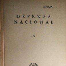 Militaria: LA DEFENSA NACIONAL Y LA DOCTRINA MILITAR / FERNANDO DE SALAS LÓPEZ. UNIVERSIDAD DE ZARAGOZA, 1963. . Lote 195158540