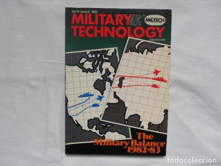 REVISTA MILITARY TECHNOLOGY - Nº 9 - 1982 (Militar - Libros y Literatura Militar)