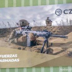 Militaria: CATALOGO ARMAS CZ EN ESPAÑOL. Lote 195266761