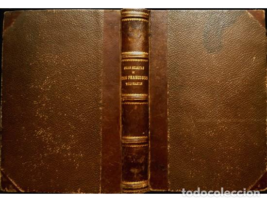 VILLAMARTIN, FRANCISCO. OBRAS SELECTAS DE... COMANDANTE DE LA INFANTERÍA... 1883. (Militar - Libros y Literatura Militar)