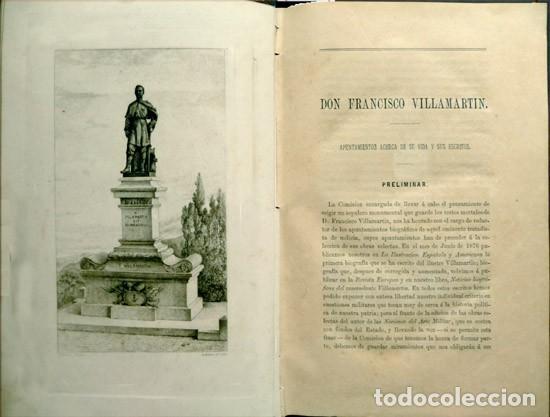 Militaria: VILLAMARTIN, Francisco. Obras selectas de... Comandante de la Infantería... 1883. - Foto 3 - 195277727