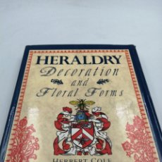 Militaria: HERALDRY DECORATION AND FLORAL FORMS. Lote 195319402