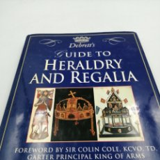 Militaria: GUIDE TO HERALDRY AND REGALIA. Lote 195319788