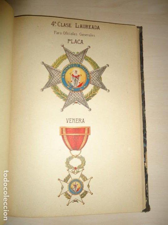 APUNTES HISTÓRICOS DE LA REAL Y MILITAR ORDEN DE SAN FERNANDO. I. CRESPO COTO. 1908. AUTÓGRAFO (Militar - Libros y Literatura Militar)