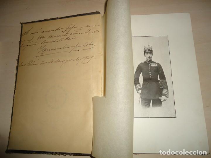 Militaria: APUNTES HISTÓRICOS DE LA REAL Y MILITAR ORDEN DE SAN FERNANDO. I. Crespo Coto. 1908. AUTÓGRAFO - Foto 4 - 195332627