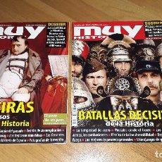Militaria: MUY INTERESANTE: MENTIRAS DE LA HISTORIA Y BATALLAS DECISIVAS DE LA HISTORIA. Lote 195338235