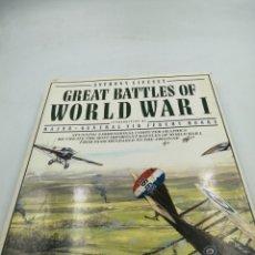 Militaria: GREAT BATTLES OF WORLD WAR I. Lote 195379141