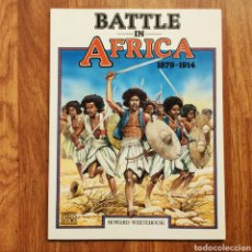 Militaria: WARGAME - BATTLE IN AFRICA 1879 -1914 - HOWARD WHITEHOUSE - GUERRAS COLONIALES - MINIATURAS. Lote 195473685