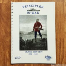 Militaria: WARGAME - PRINCIPLES OF WAR COLONIAL ARMY LISTS 1838 -1915 - GUERRAS COLONIALES - MINIATURAS. Lote 195475351