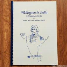 Militaria: WARGAME - WELLINGTON IN INDIA 1789-1805 - GUERRAS COLONIALES - MINIATURAS JUEGO DE GUERRA WARGAMES. Lote 195479018