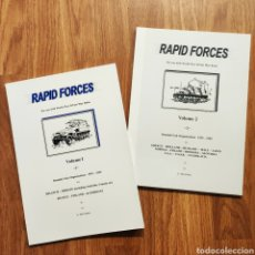 Militaria: WARGAME - RAPID FORCES - SECOND WORLD WAR - MINIATURAS JUEGO DE GUERRA WARGAMES. Lote 195489160