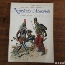 Militaria: NAPOLEONS MARSHALS OSPREY MEN-AT-ARMAS SERIES 87. Lote 195491455