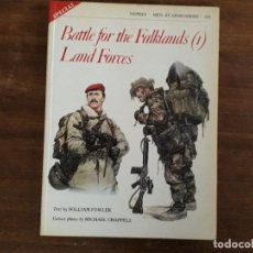Militaria: BATTLE FOR THE FALKLANDS(1) LAND FORCES OSPREY MEN-AT-ARMAS SERIES 133. Lote 195493136