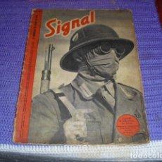 Militaria: REVISTA SIGNAL Nº 12 DE 1941 -. Lote 196088430