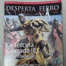 Militaria: DESPERTA FERRO ANTIGUA Y MEDIEVAL N.58 LA TERCERA CRUZADA (I) FEDERICO BARBARROJA. Lote 196232593