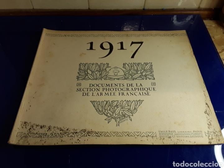 DOCUMENTO DE LA SECCIÓN FOTOGRÁFICA DE LA ARMADA FRANCESA (AÑO 1917)PRIMERA GUERRA MUNDIAL N°6 (Militar - Libros y Literatura Militar)