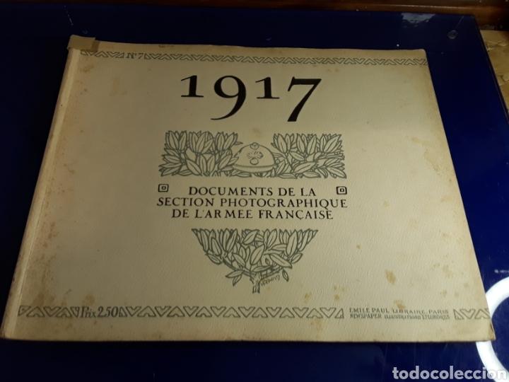 DOCUMENTO DE LA SECCIÓN FOTOGRÁFICA DE LA ARMADA FRANCESA (AÑO 1917)PRIMERA GUERRA MUNDIAL N°7 (Militar - Libros y Literatura Militar)