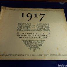 Militaria: DOCUMENTO DE LA SECCIÓN FOTOGRÁFICA DE LA ARMADA FRANCESA (AÑO 1917)PRIMERA GUERRA MUNDIAL N°7. Lote 198977285