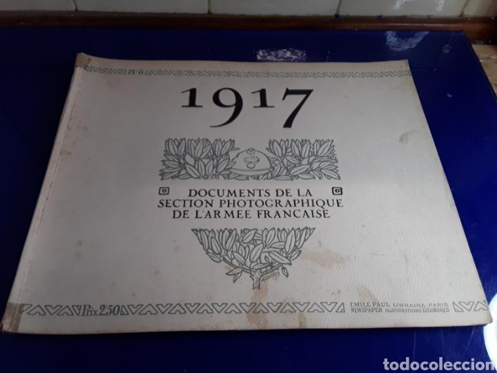 DOCUMENTO DE LA SECCIÓN FOTOGRÁFICA DE LA ARMADA FRANCESA (AÑO 1917)PRIMERA GUERRA MUNDIAL N°8 (Militar - Libros y Literatura Militar)