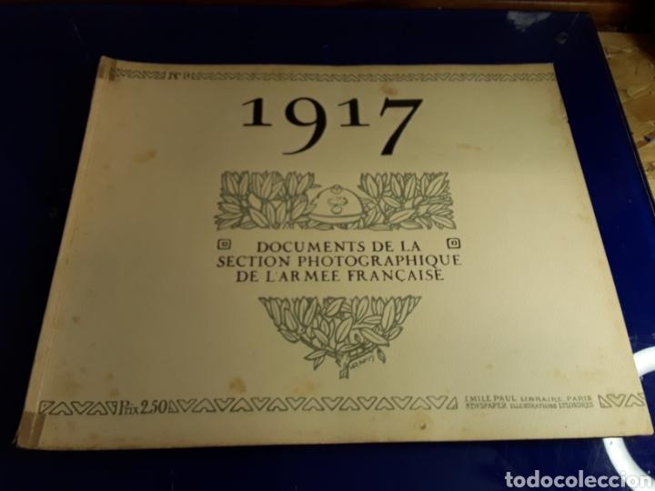 DOCUMENTO DE LA SECCIÓN FOTOGRÁFICA DE LA ARMADA FRANCESA (AÑO 1917)PRIMERA GUERRA MUNDIAL N°9 (Militar - Libros y Literatura Militar)